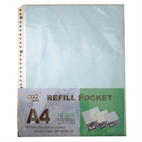 HFPWP F401A4-IN 30孔活頁資料內頁袋