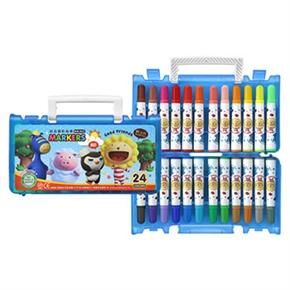 奶油獅 12色彩色筆