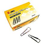 ABEL 力大00114-小三角迴紋針 25.5mm (10入-中盒)