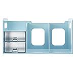 【FLYING】BR-1387 超大型創新書架 (附整理盒) 薄荷藍