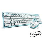 E-books Z4 美型無線鍵盤滑鼠組